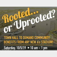 Upcoming Town Hall to Demand Community Benefits!