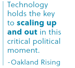 Using Tech to Build Community Power