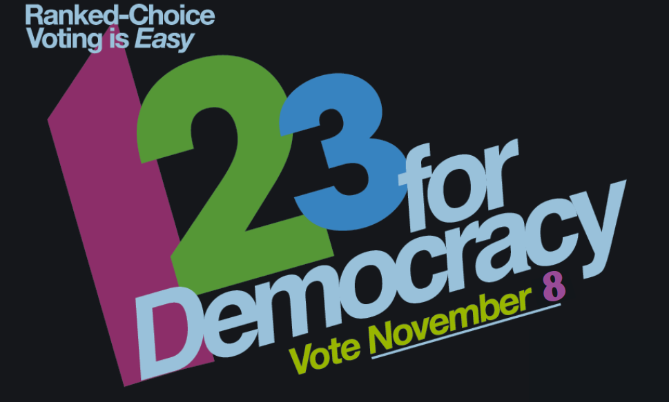 Ranked Choice Voting – 1, 2, 3 for Democracy!