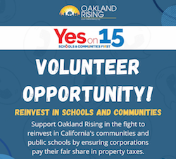 Calls for Reinvesting in Oakland
