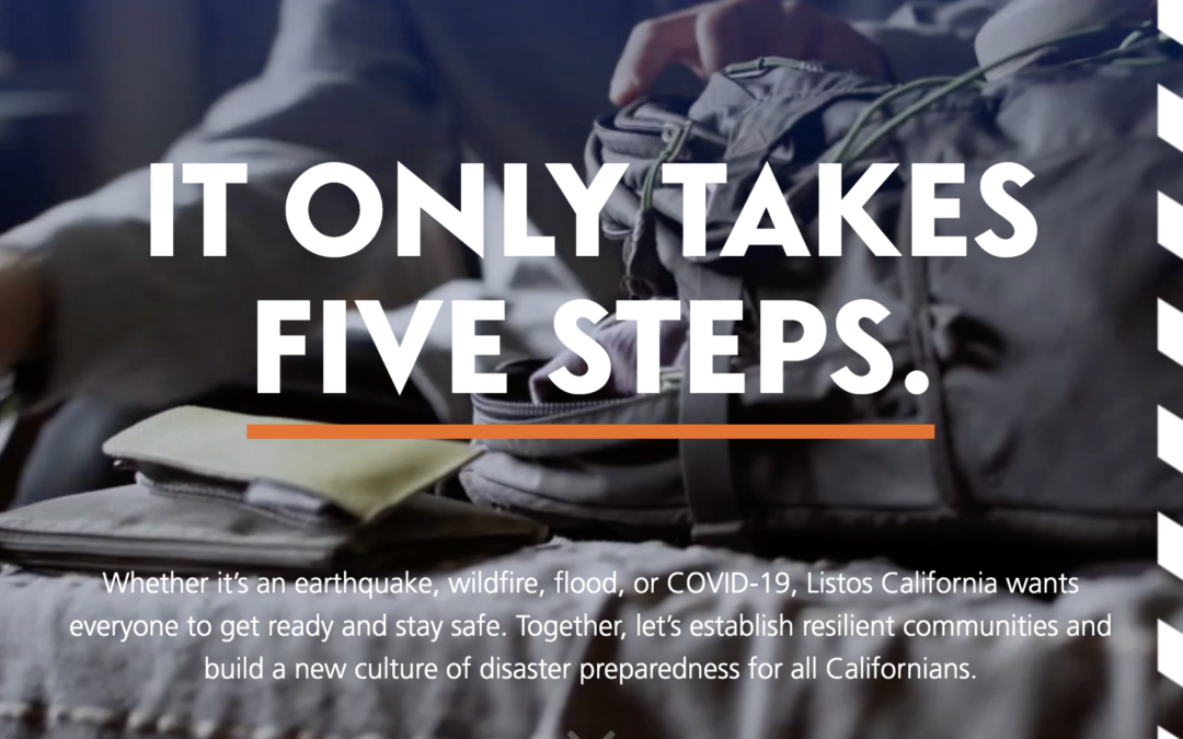 Stay Disaster Prepared with 5 Easy Steps