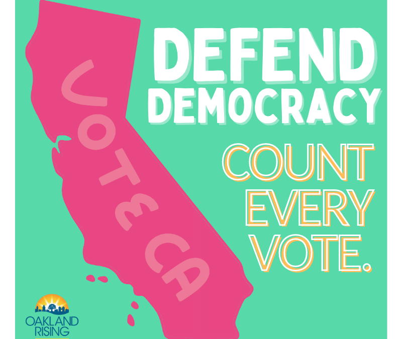 Defend Democracy: Count Every Vote