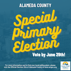 Special Primary Election: Vote by June 29th!