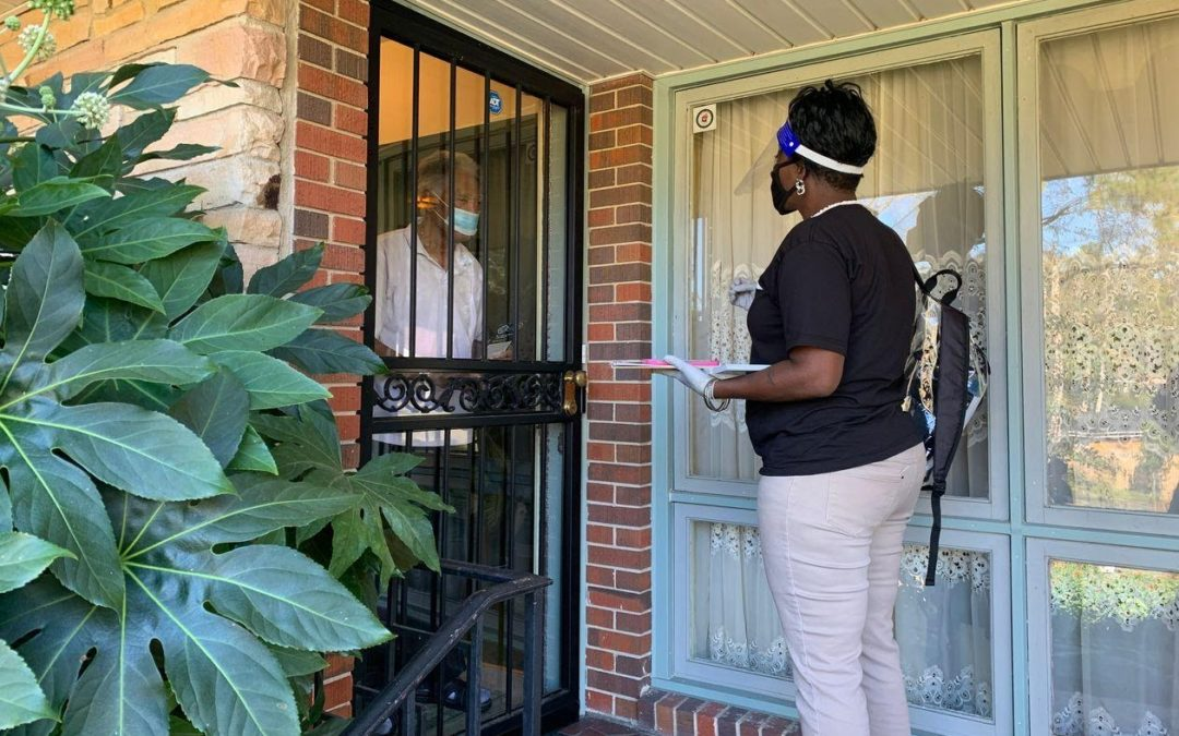 Door Knocking for a Healthy Future
