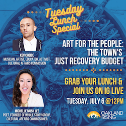 7/6 Tuesday Lunch Special: Art for the People